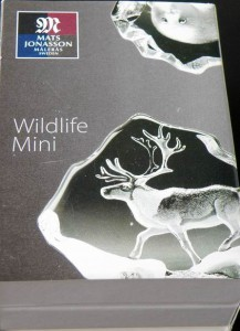 Packet Miniature Wildlife Sculpture